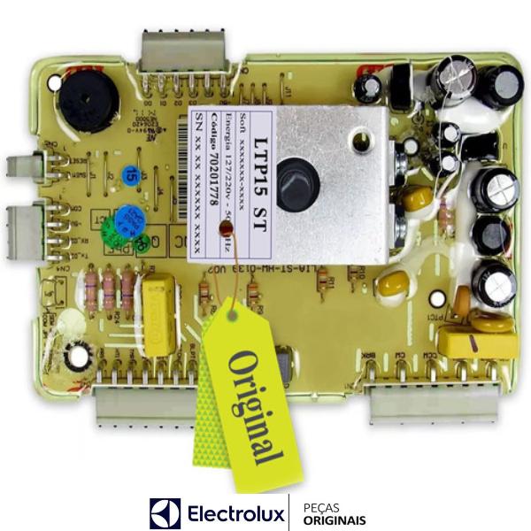 Placa Potência Compatível com a Lavadora Electrolux Original Bivolt - 70201778