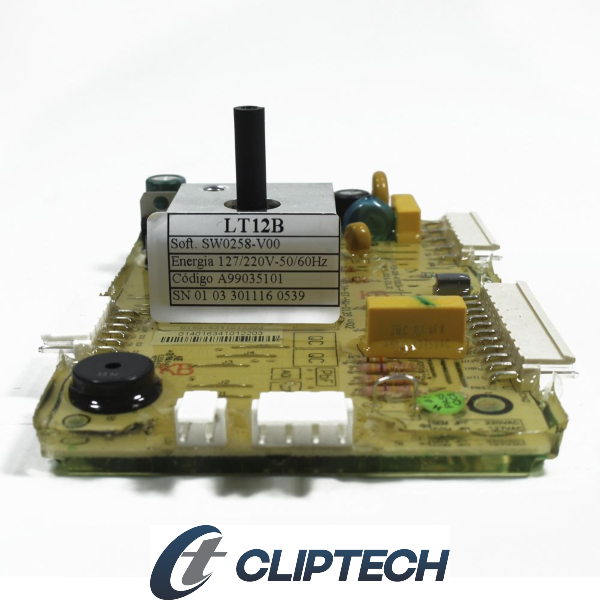 Placa Potência Compatível com a Lavadora Electrolux Bivolt Cliptech  - A99035101