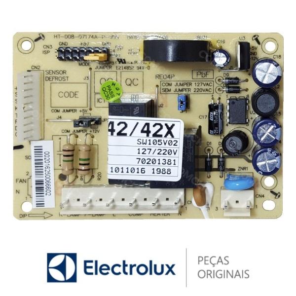 Placa Potência Refrigerador Electrolux Bivolt Original - 70201381