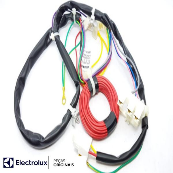 Rede Elétrica Inferior Original Lavadora Electrolux - 64501681