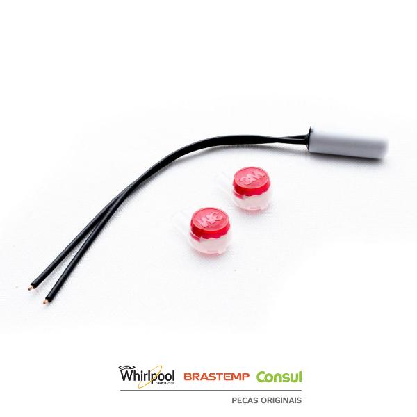 Sensor Temperatura 2,7k Geladeira Consul | Brastemp - W10531315
