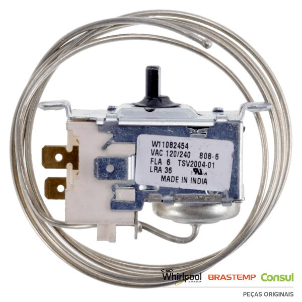 Termostato para Refrigerador Brastemp e Consul Original - TSV2004-01   W11082454