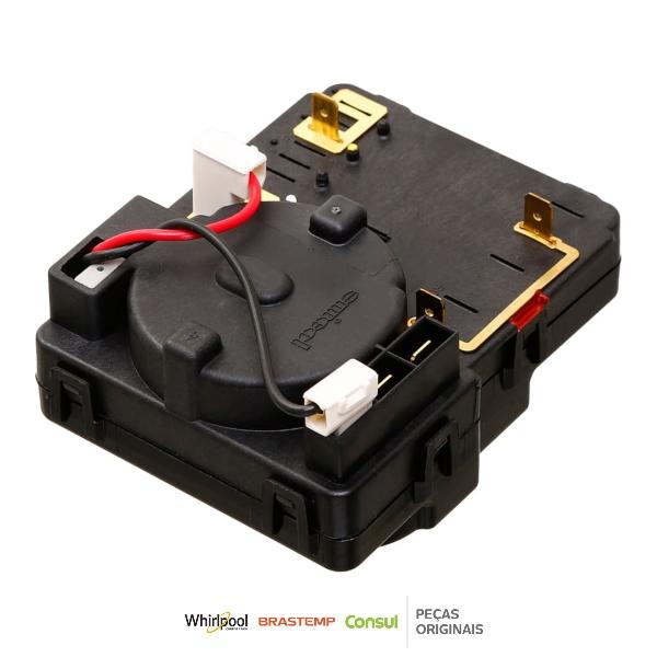 Timer Eletromecânico Secadora Brastemp 220v Original - W11047054