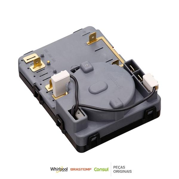 Timer Eletromecânico Secadora Brastemp 220v Original - W11047056