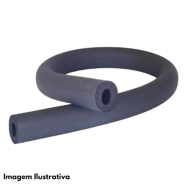 Tubo Esponjoso Elastomérico Isolante 3/4 09MM 2M - Itapex