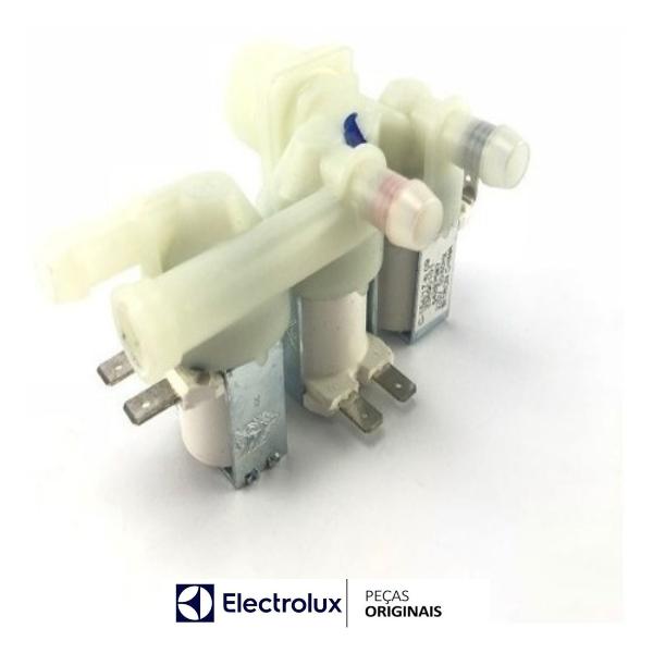 Válvula Tripla Entrada Água Electrolux Original 220v - 64500222