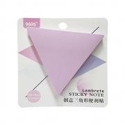 Bloco Adesivo Triangulo