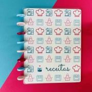 Caderno de receitas - Caderno de Discos (A4)