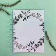 Coleção Floresta FLORZINHA - Caderno de Discos (A4)