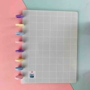 Coleção Geométrica VERDE MENTA  - Caderno de Discos