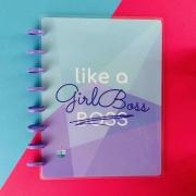 Coleção Girl Power GIRL BOSS - Caderno de Discos (A5)
