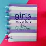 Coleção Girl Power HAVE FUN  - Caderno de Discos