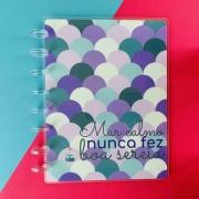 Coleção Girl Power SEREIA - Caderno de Discos (A5)