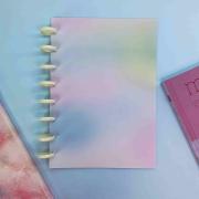 Coleção Tie Dye CLASSIC - Caderno de Discos (A4)