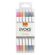 Dual Brush Pen EVOKE - BRW