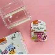Kit BRW Washi Tape Shine Flamingo