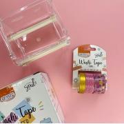Kit BRW Washi Tape Shine For Rosa