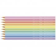 Lápis de cor Ecolápis de Cor 10 Cores Pastéis - Faber Castell