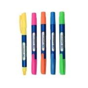 Marca Texto Lumini Gel Neon c/5 cores- CiS