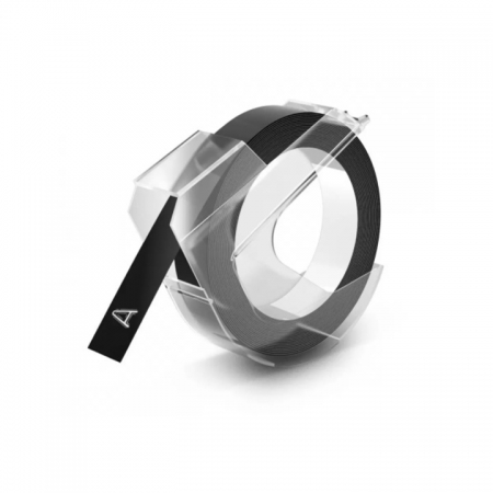 Refil para Rotuladora Manual c/1 fita preta - Dymo