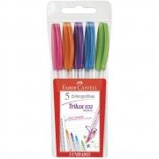 Trilux Colors 1,0mm Mix 5 Cores - Faber Castell