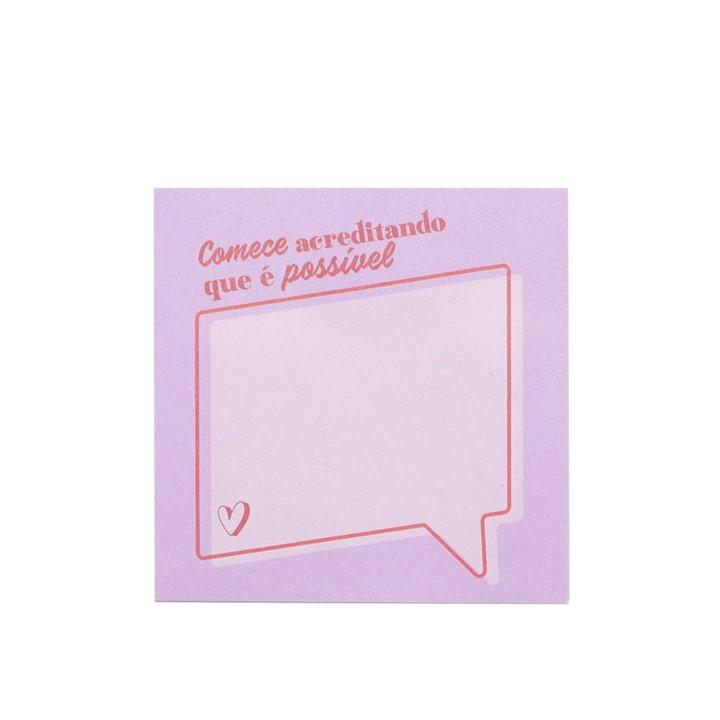 Bloco Adesivo Good Vibes - Leonora