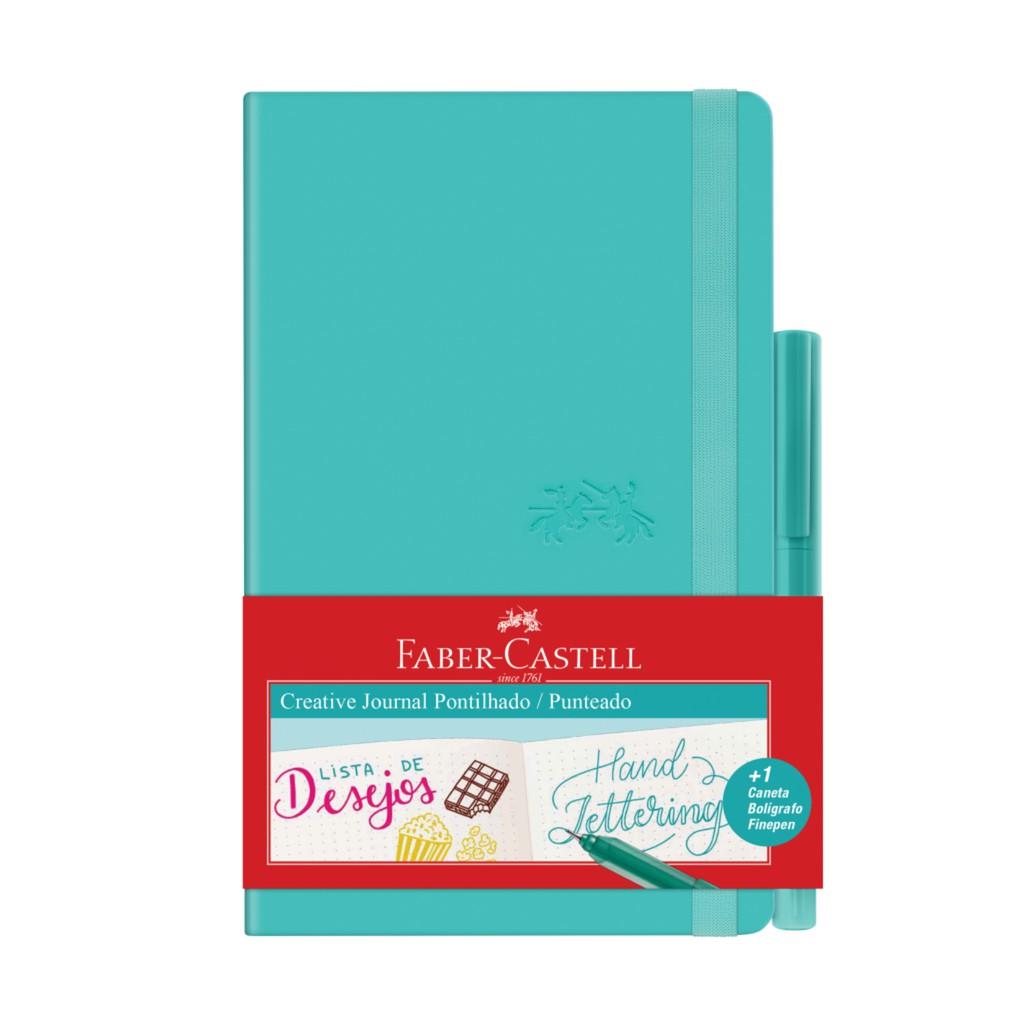 Caderneta Creative Journal Pontilhada - Faber Castell