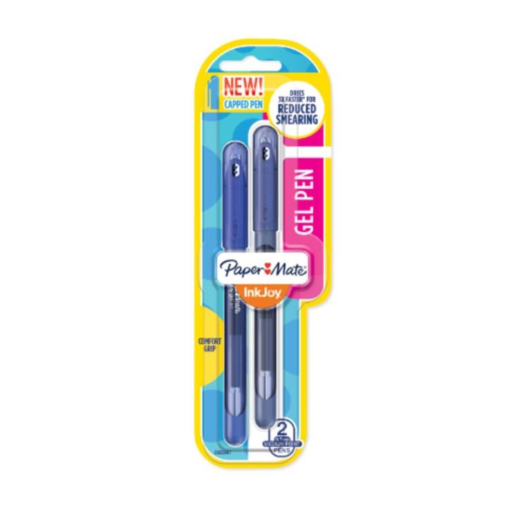 Caneta Gel Inkjoy 0,7mm kit c/2 Azul/Azul Escuro - Paper Mate