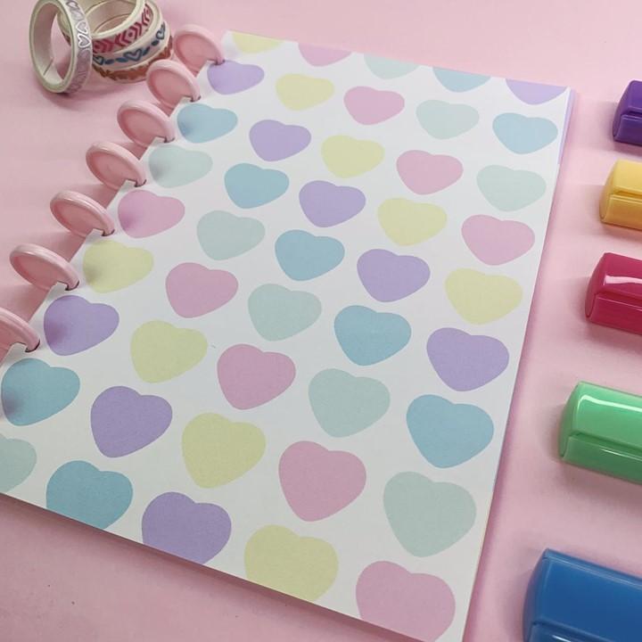 CAPAS Candy Color Coração
