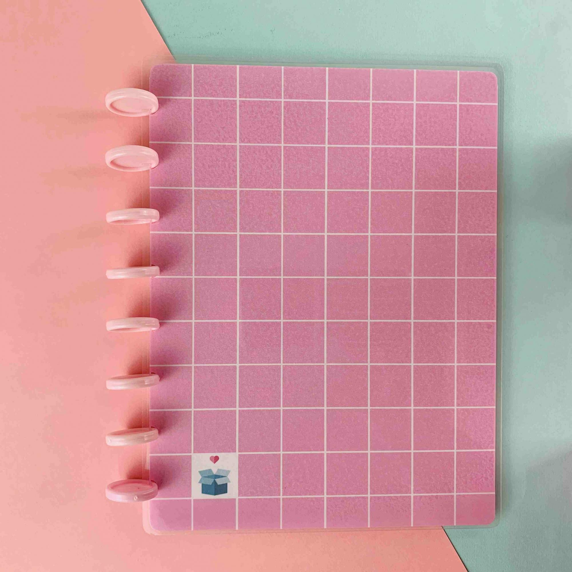 CAPAS Geométrica Rosa Pastel