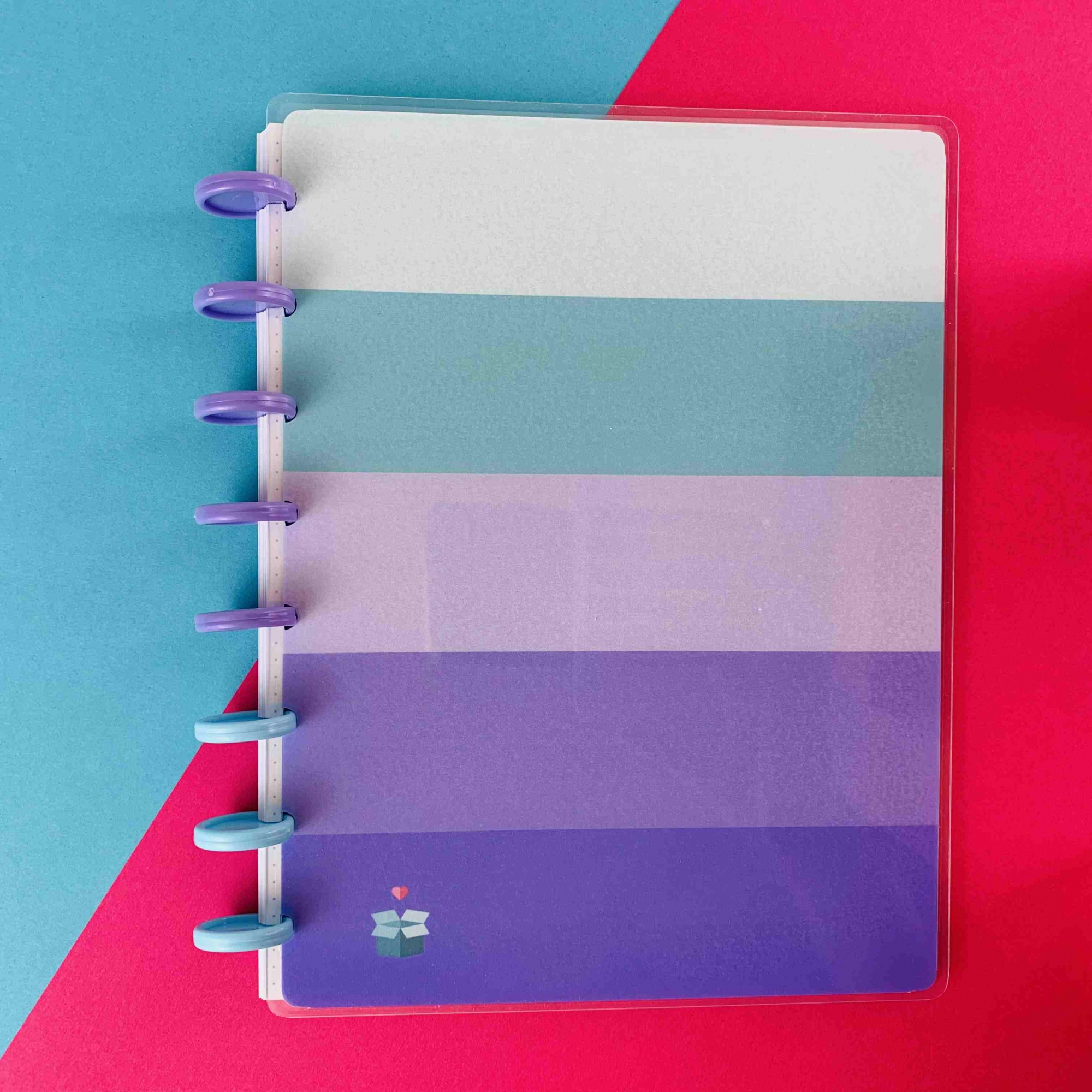 Coleção Girl Power YOU GO Lilás  - Caderno de Discos (A4)