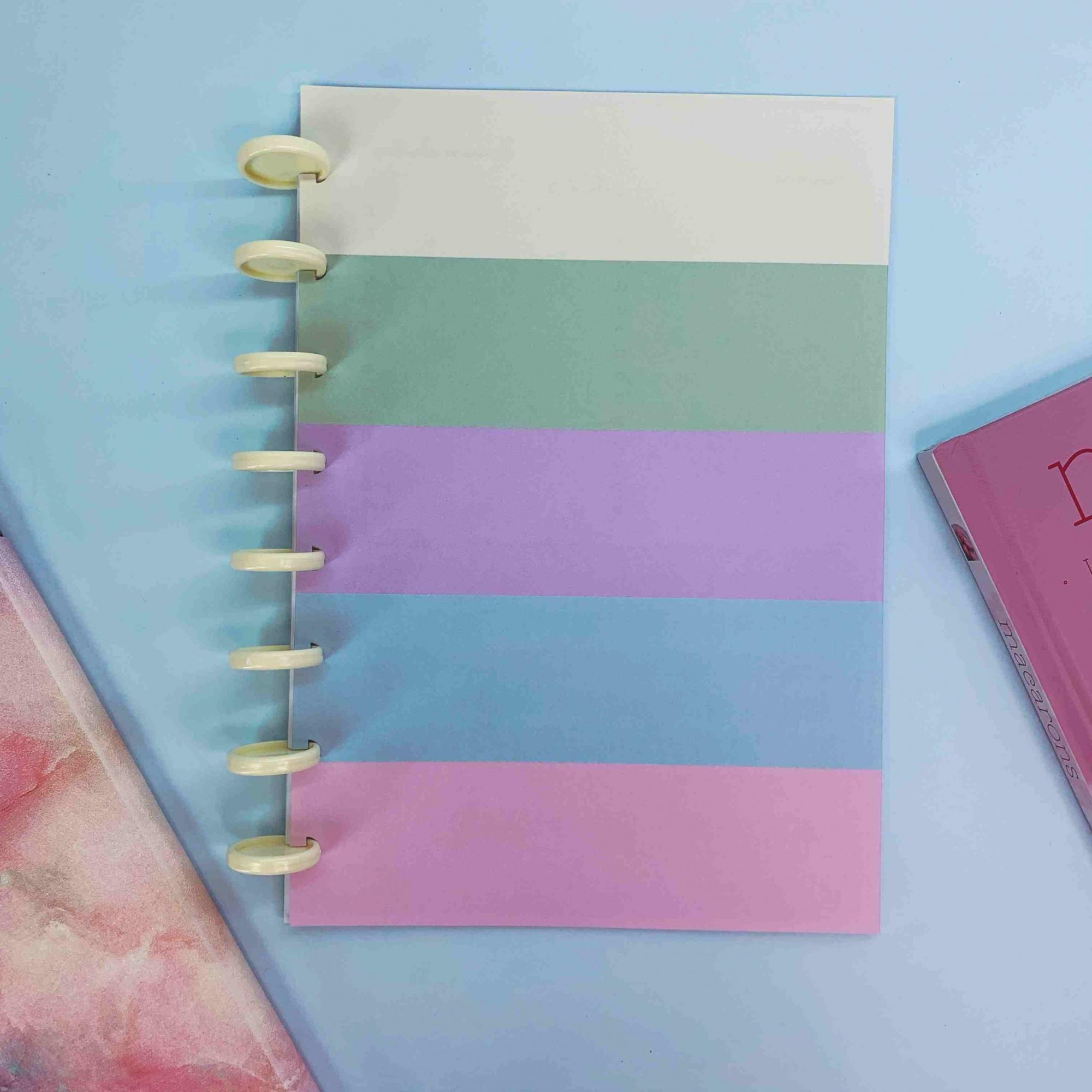 Coleção Tie Dye CLASSIC - Caderno de Discos (A5)