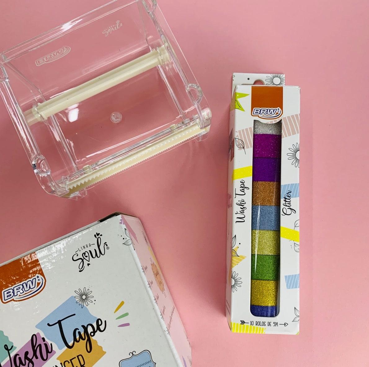 Kit BRW Washi Tape Glitter