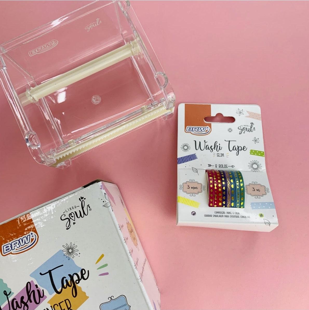 Kit BRW Washi Tape Hot Stamping