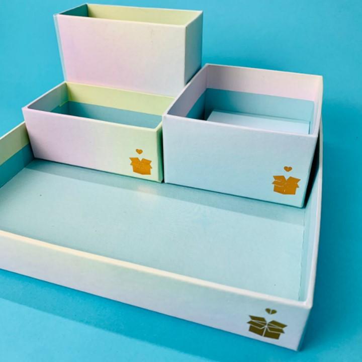 Kit Organizador + Bloquinho - Bia Box 2
