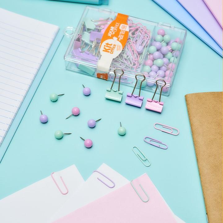 Kit Prendedores Office - Leonora