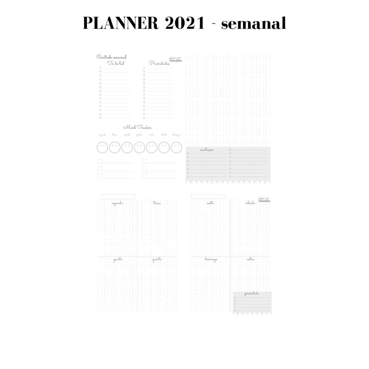 Planner 2021 - Girl Boss