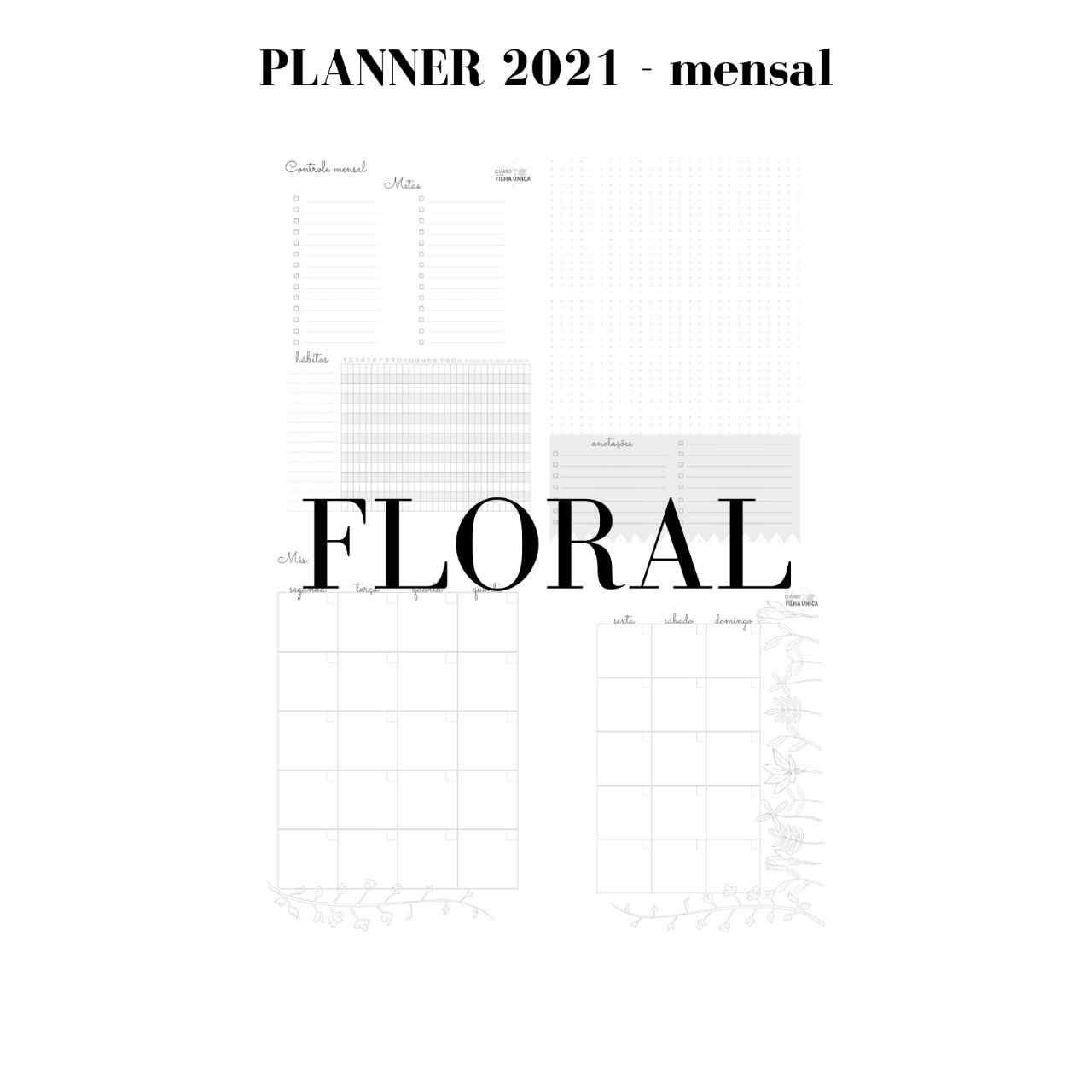 Planner 2021 - You Go Azul