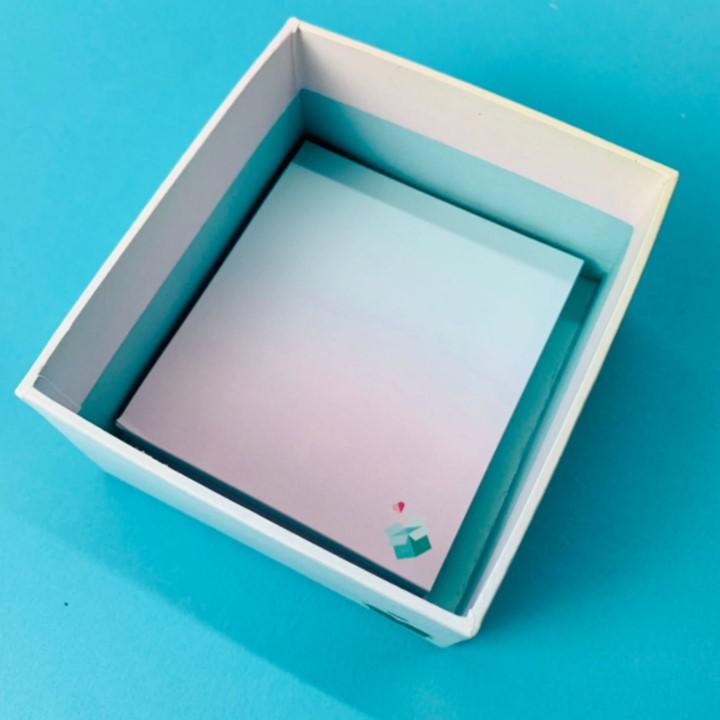 Porta Bloquinho + Bloquinho - Bia Box 2