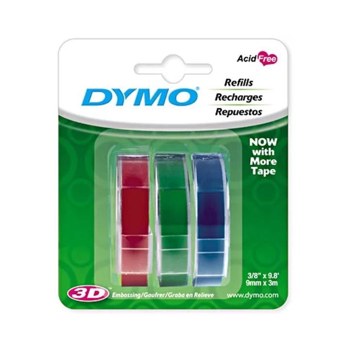 Refil para Rotuladora Manual c/3 fitas - Dymo