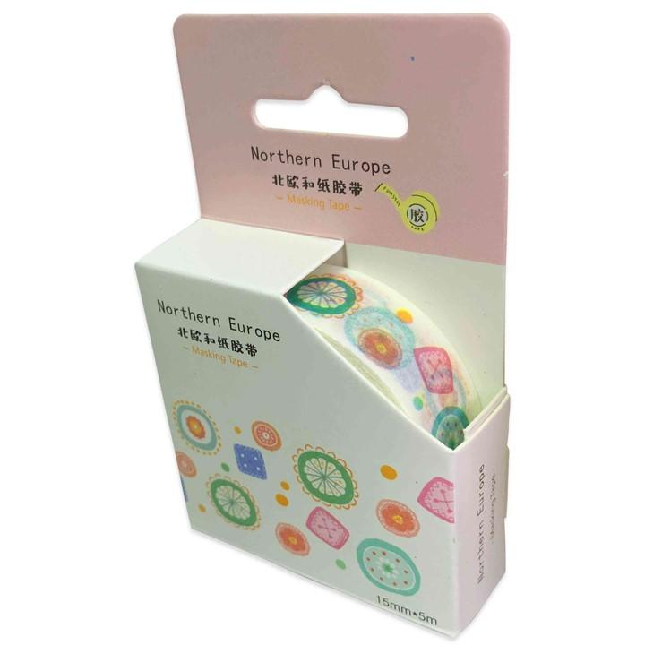 Washi Tape Coleção Flores e Formas