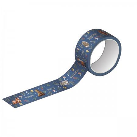 Washi Tape Estampada e Metalizada - Tilibra