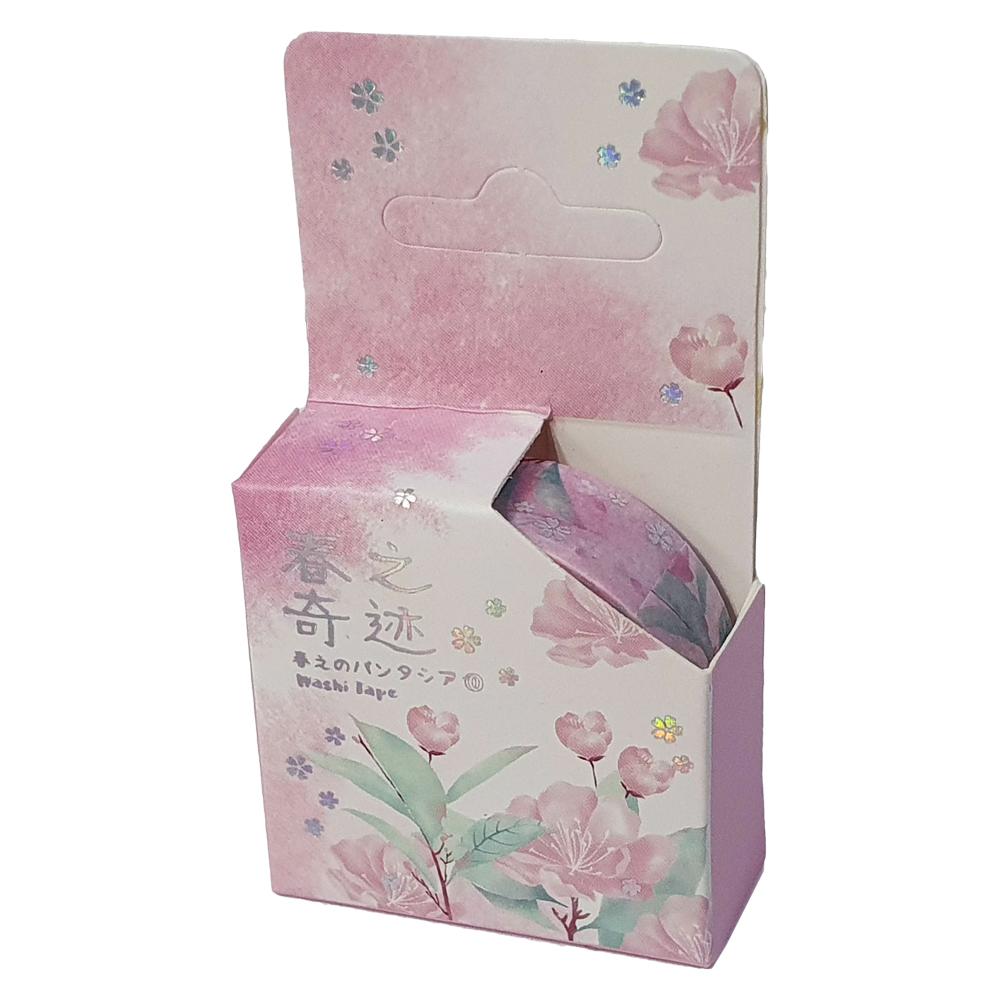 Washi Tape Flores e Folhas