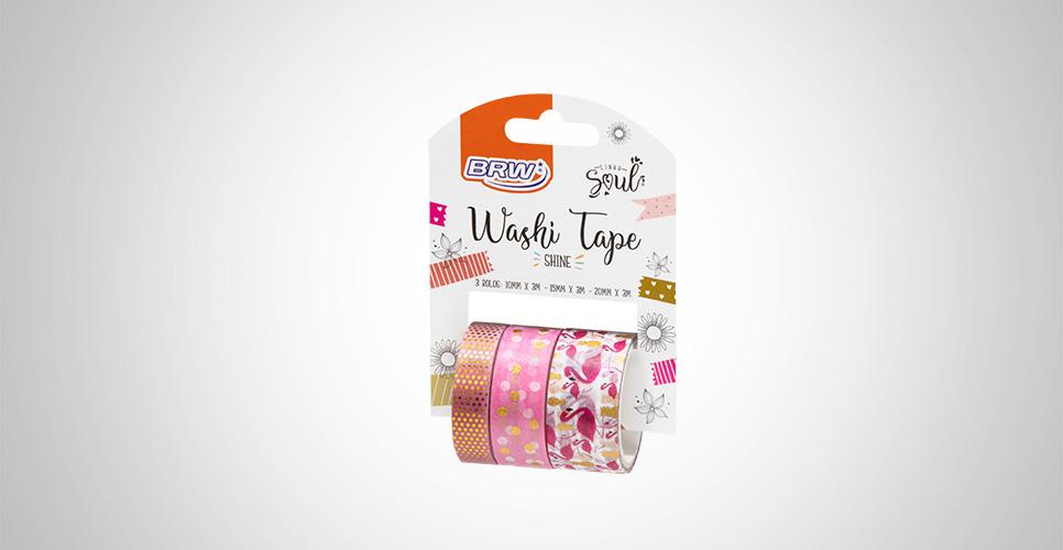 Washi Tape Shine Flamingo - BRW