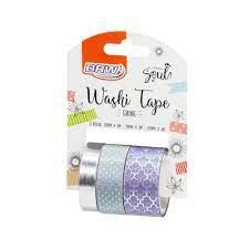 Washi Tape Shine Lilás - BRW