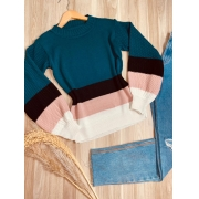 Blusa Tricot Listrada Elza
