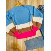 Blusa Tricot Listrada Monica