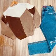 Blusa Tricot Three Colors