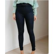Calça Alcance Jeans Jegging com cinto