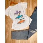 T-shirt Fusca de Férias